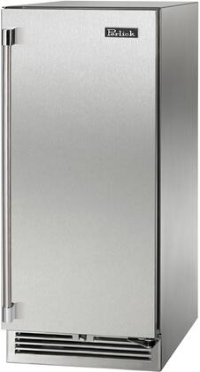 Perlick Signature HP15RS41R Compact Refrigerator Stainless Steel, Main Image