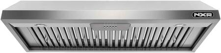 EH4819 48″ Undercabinet Range Hood with 800 CFM  LED Lighting  Stainless Steel Baffle Filters and Delay Power Auto Shut Off in Stainless
