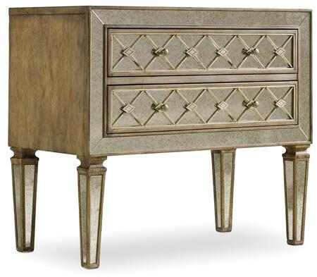 Hooker Furniture Sanctuary 541490017 Chest of Drawer Silver, Main Image