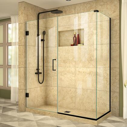 DreamLine  SHEN2460034009 Shower Enclosure , Unidoor Plus Shower Enclosure RS39 30D 30IP 30RP 09
