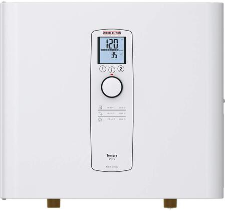 239219 Tempra 12 Plus Whole House Electric Tankless Water Heater with 12000 Watts  Advanced Flow Control  Digital Display and 204/208 Volts in