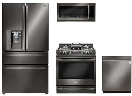 LG 864598 Kitchen Appliance Package & Bundle Black Stainless Steel, 1