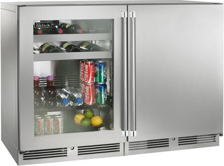 Perlick Signature 1443690 Beverage Center Stainless Steel, 1