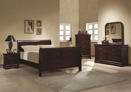 Coaster 203971QSET4 Bedroom Set, 1