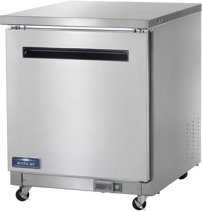 Arctic Air  AUC27R Undercounter and Worktop Refrigerator Stainless Steel, Main Image