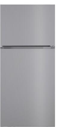 Forte  F18TFRESSS Top Freezer Refrigerator Stainless Steel, Main Image