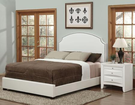 Acme Furniture Kristina 24707EKN Bedroom Set White, 2 PC Set