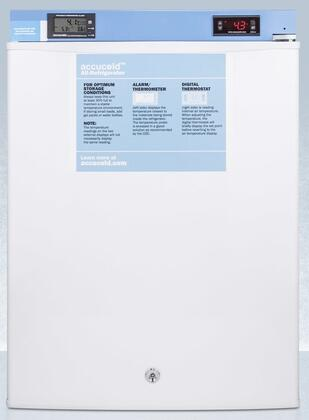AccuCold  FF28LWHMED2 Compact Refrigerator White, Main Image