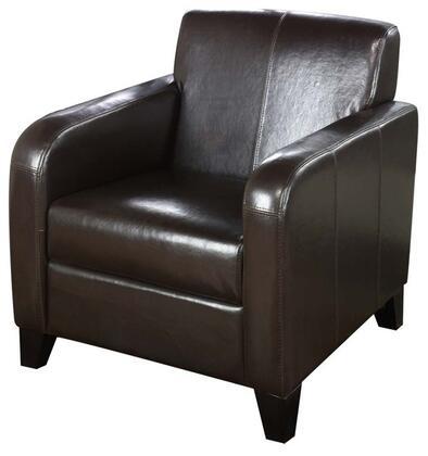 Armen Living  LCMS0011DB Living Room Chair , Chair View