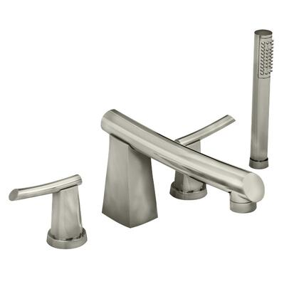 7010.901.075 Stainless Steel Deck-Mount Tub