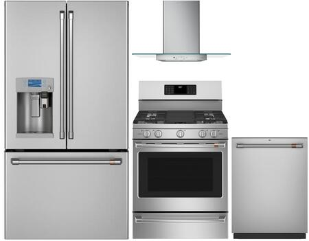 Cafe 1053692 Kitchen Appliance Package & Bundle Stainless Steel, main image