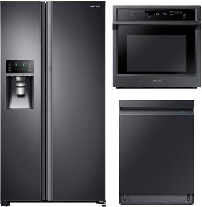 Samsung 1102774 Kitchen Appliance Package & Bundle Black Stainless Steel, main image