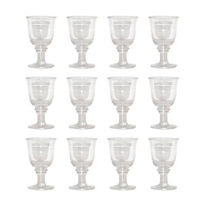 Pomeroy Savannah 265044S12 Glassware and Drinkware Clear, 265044 s12