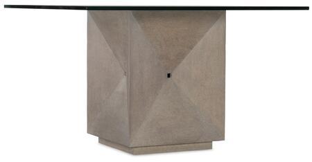 Hooker Furniture Miramar - Carmel 620075203GRY Dining Room Table, Silo Image