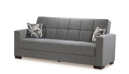 Casamode Armada ARMADASOFA13GRAY26440 Sofa Bed Gray, Main Image