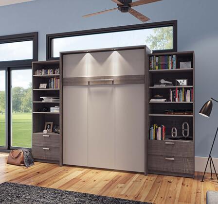 Bestar Furniture Cielo 8088547 Bed Multicolor, Main Image