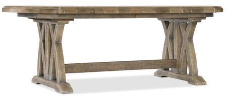 Hooker Furniture Boheme 575075200MWD Dining Room Table, Silo Image