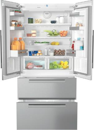 Miele PerfectCool KFNF9955IDE French Door Refrigerator Panel Ready, Main Image