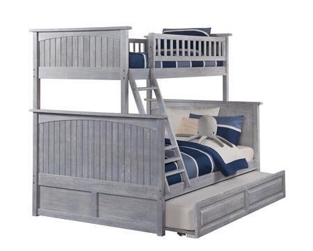 Atlantic Furniture Nantucket AB59238 Bed Gray, AB59238 SILO TR2 30