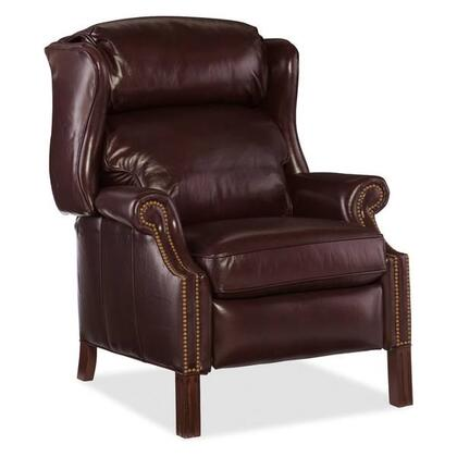 Hooker Furniture Sicilian RC214218 Recliner Chair Brown, Main Image