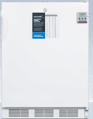 CT66LPLUS2ADA 24″ ADA Compliant Compact Refrigerator with 5.1 cu. ft. Capacity  Factory Installed Lock  Cycle Defrost and Dual Evaporator Cooling in