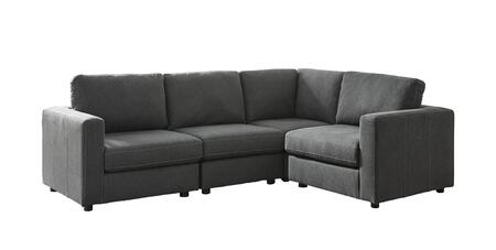 Signature Design by Ashley Candela 9190264467765 Sectional Sofa Gray, Main Image