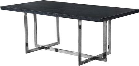 Meridian Elle 738T Dining Room Table Black, main image