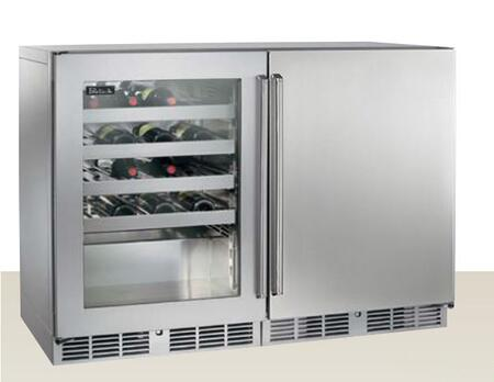 Perlick  HP48WWS3L1R Wine Cooler 76 Bottles and Above Stainless Steel, 1