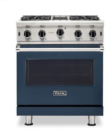 Viking 5 Series VGIC53024BSB Freestanding Gas Range Blue, VGIC53024BSB Gas Range