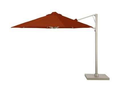 Shadowspec SU6 Series KITP6OCT35UNOSPTCAA Outdoor Umbrella Red, KITP6SQ25UNOSPTCAA