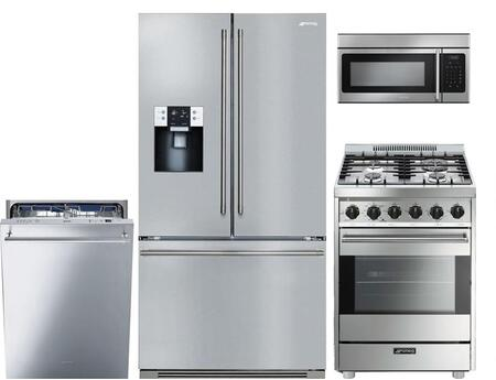 Smeg 852456 Kitchen Appliance Package & Bundle Stainless Steel, main image