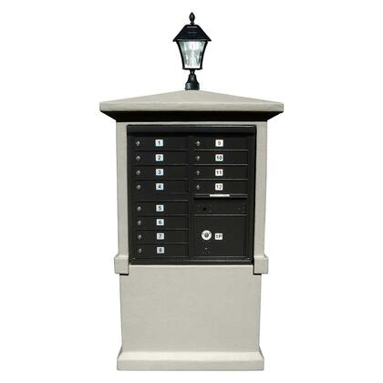 Qualarc Estateview EVMCTALLGYSL Mailboxes, EVMC TALL GY SL