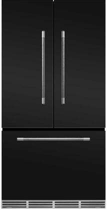 AGA Mercury MMCFDR23MBL French Door Refrigerator Black, Main Image