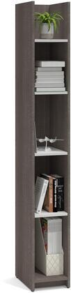 Bestar Furniture Krom 167021147 Shelf, Storage Tower
