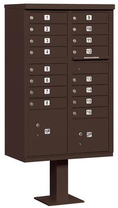 Salsbury Industries 3316BRZP Commercial Mailboxes, Main Image