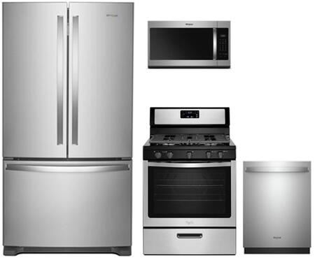 Whirlpool 902703 Kitchen Appliance Package & Bundle Stainless Steel, 4