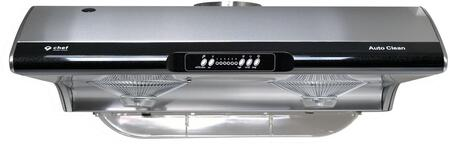 UC-C395SS-36 36″ C395 Under Cabinet Range Hood with 750 CFM  Electronic Controls  Self-Cleaning System  6 Fan Speeds and Incandescent Lighting in
