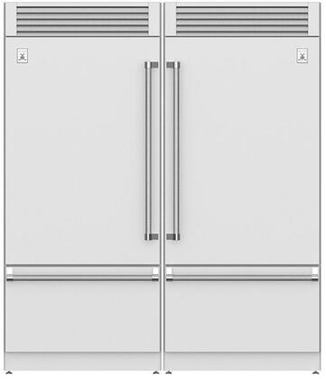 Hestan  915953 Refrigerator Pairs Stainless Steel, Stainless Steel