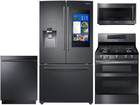 Samsung 757414 Kitchen Appliance Package & Bundle Black Stainless Steel, main image