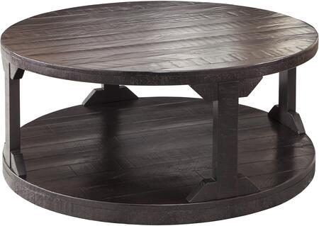 Signature Design by Ashley Rogness T7458 Coffee and Cocktail Table Brown, 1
