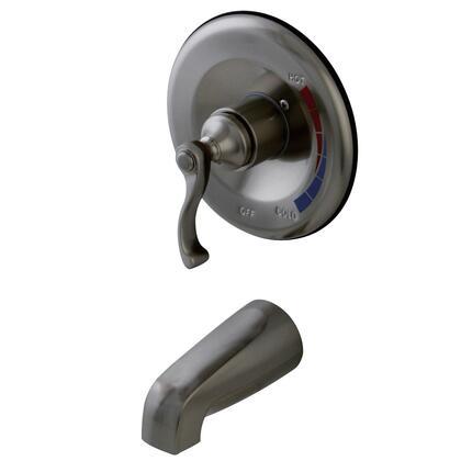 Kingston Brass Royale KB8638FLTO Faucet Silver, Main Image