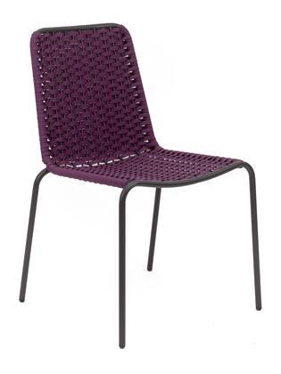 Florida Seating Palma PALMAPSHB Dining Room Chair Purple, dc palma s hb anthracite purple