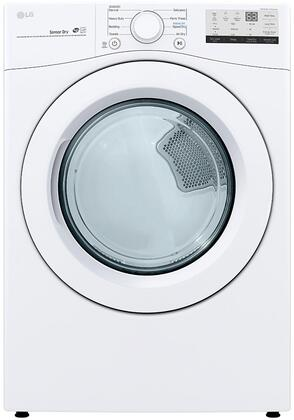 LG  DLE3400W Electric Dryer White, DLE3400W Electric Dryer