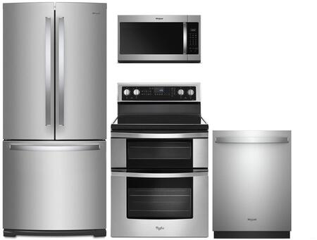 Whirlpool  991750 Kitchen Appliance Package Stainless Steel, Main Image