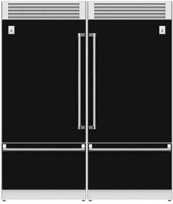 Hestan  915955 Refrigerator Pairs Black, Main Image