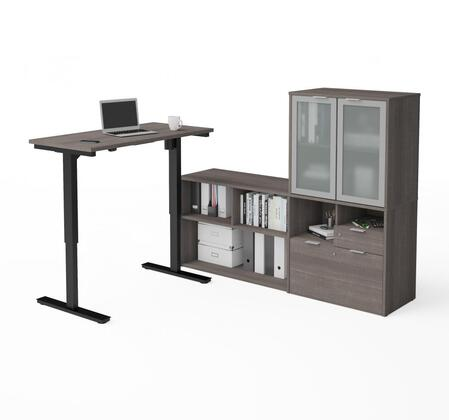 i3 Plus Collection Credenza with 2 Drawers Bestar