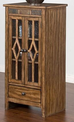 Sunny Designs Coventry 3553BMAP Cabinet Brown, Main Image