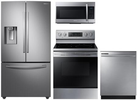 Samsung  1222930 Kitchen Appliance Package Stainless Steel, Main image