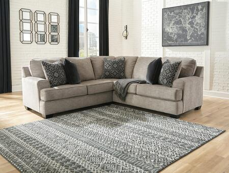 Signature Design by Ashley Bovarian 561032PCSEC Sectional Sofa Gray, 1