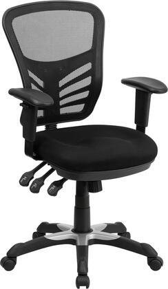 Flash Furniture HL0001 HL0001GG Office Chair Black, HL0001GG